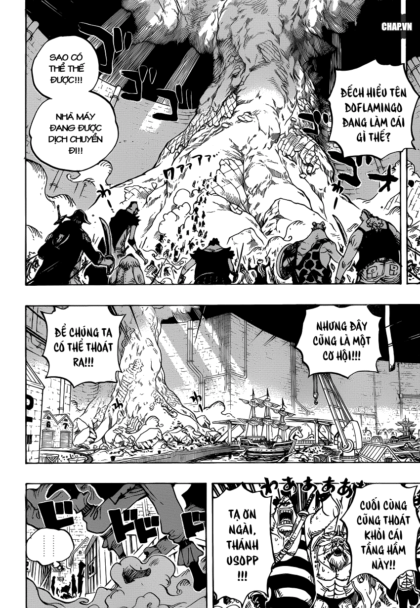 One Piece Chapter 746: Những ngôi sao 004