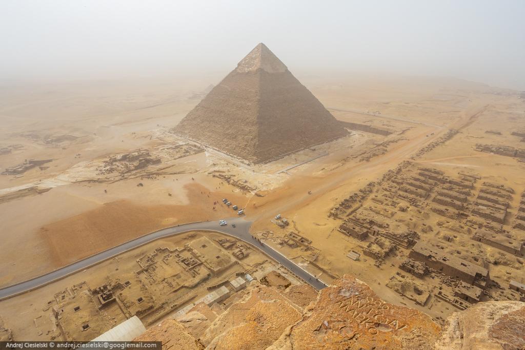 pyramide gizeh mystère