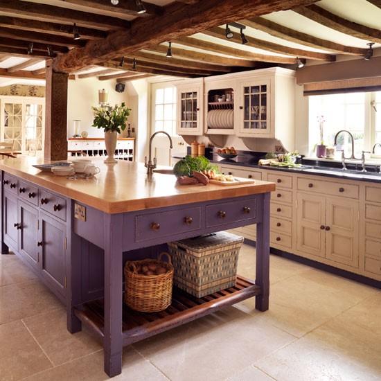 10 Beautiful Kitchens With Purple Walls: Benim Küçük Cennetim: ŞİRİN ŞİRİN MUTFAKLAR
