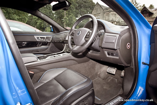 2013 Jaguar XFR-S interior