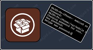 شرح تغيير باسوورد الروت في الايفون والايباد بالصور Change Basord the Root in iPhone  iPad