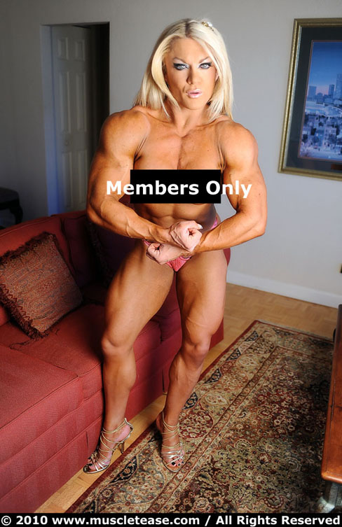 Lisa Cross Female Muscle Bodybuilding Blog Muscletease Ripped