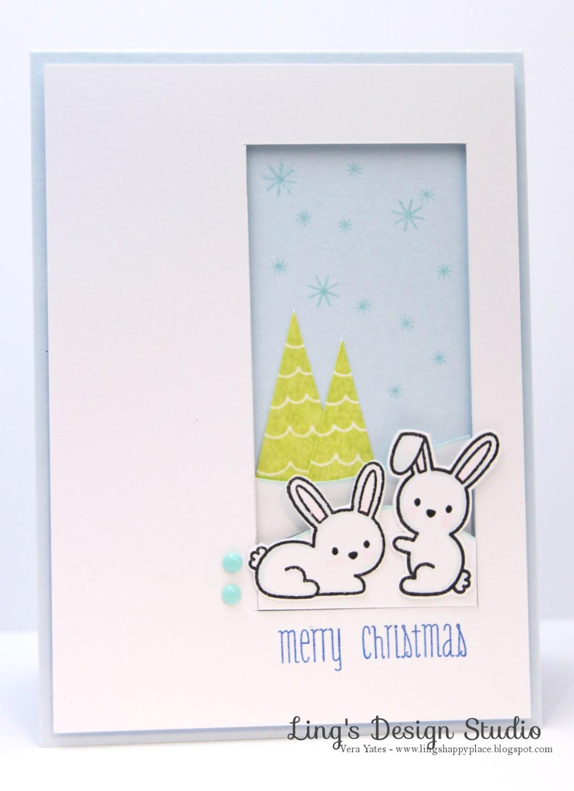 Christmas, bunnies