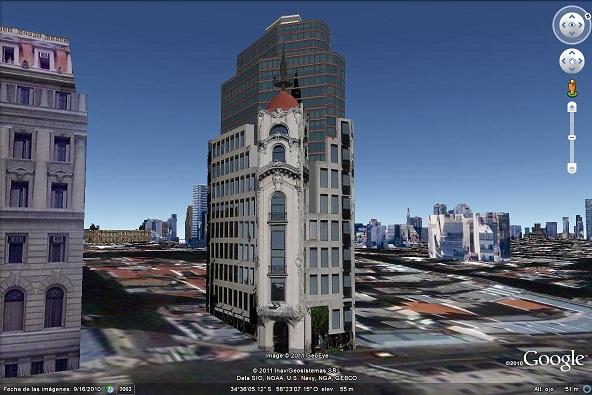 Edificio en Talcahuano y Lavalle - Google Galería 3D