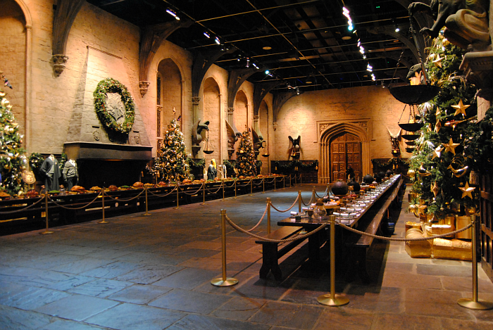 Hogwarts Great Hall at Christmas | Harry Potter Studio Tour