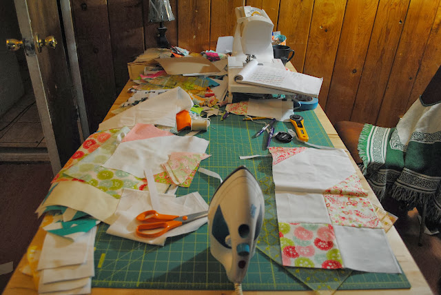 honest sewing room