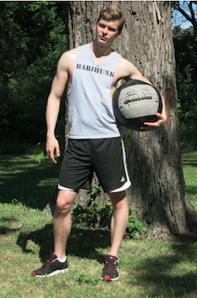Look as sexy as Anthony Reed in your own barihunk tee shirt