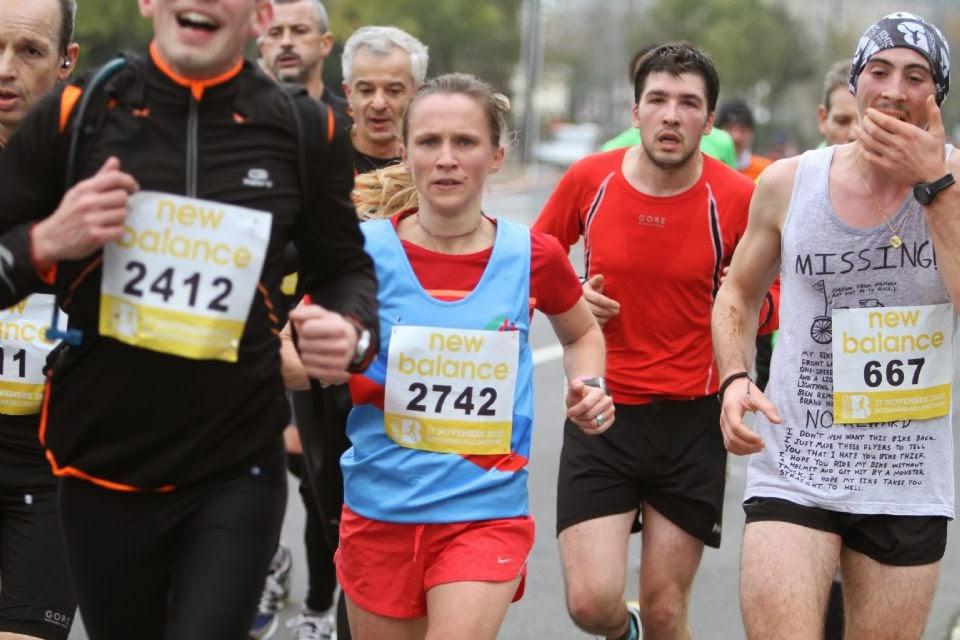 new balance pour semi marathon