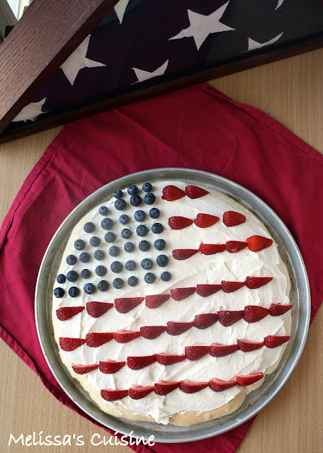 Melissa's Cuisine: Patriotic Fruit Pizza