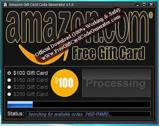 Amazon Gift Card Code Generator Hacking