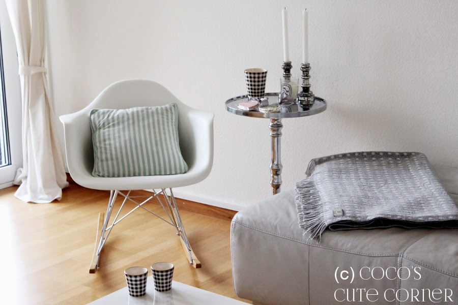 Living Room with Eames Rocking Chair