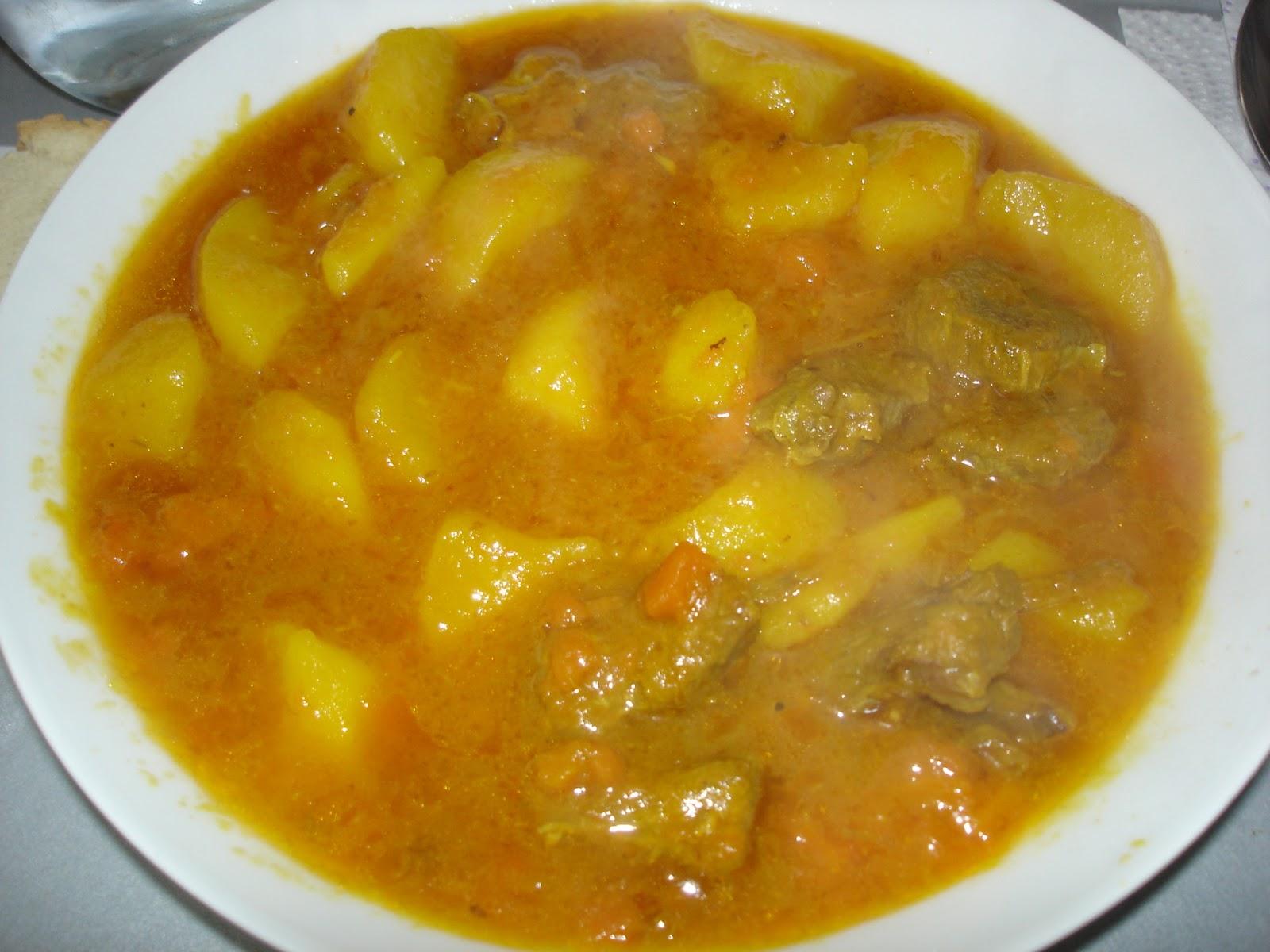 Cocina y viaje con carmen estofado de ternera con patatas - Cocina con carmen ...