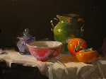 Qiang Huang's oil painting