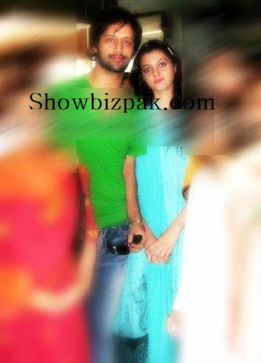 Atif Aslam and Sara Bharwana