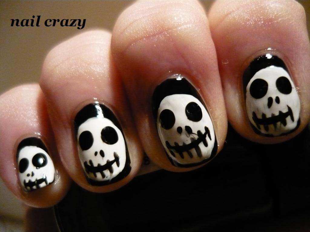 Nail crazy: Jack Skellington