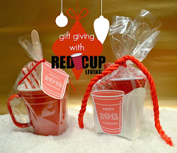 Gift Giving With Red Cup Living