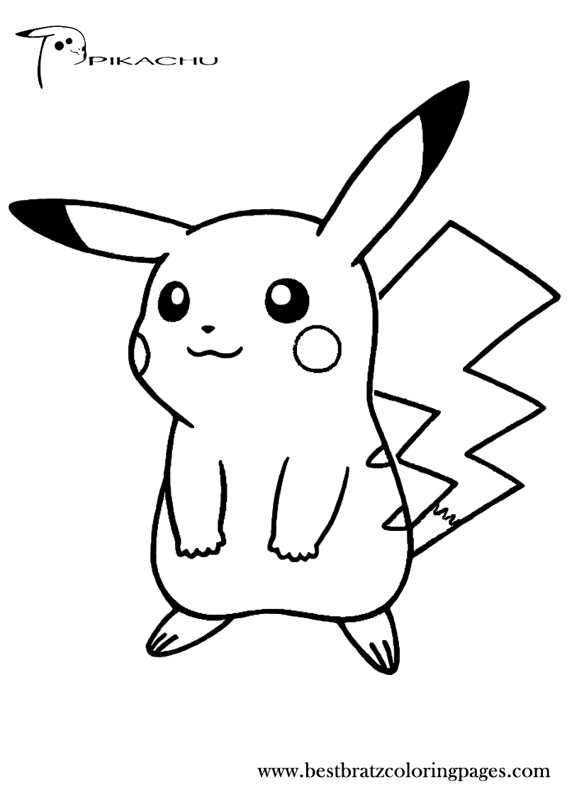 Pikachu coloring pages for Pikachu coloring page