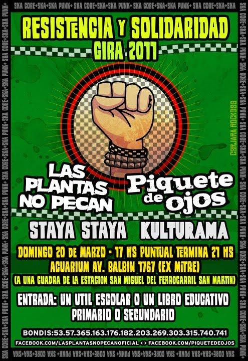 RESISTENCIA Y SOLIDARIDAD - 20 de Marzo