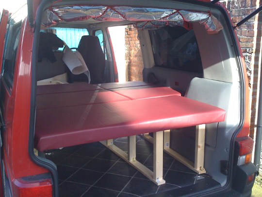 SpeedSurfing News Building The Van Interior For Camping And Windsurfing