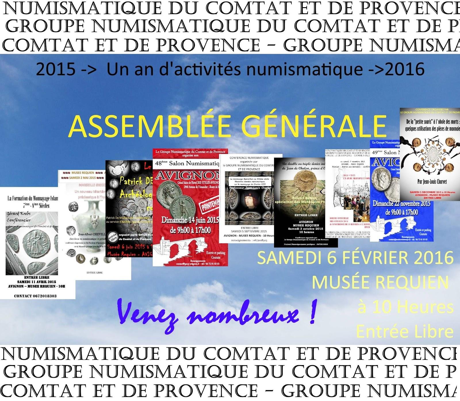Groupe numismatique du comtat et de provence assembl e g n rale du gncp le 6 f vrier 2016 - Groupe dauphinoise ...