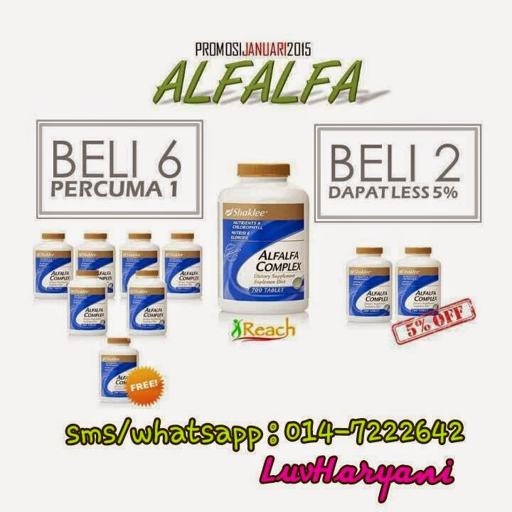 Promotion Alfalfa January 2015