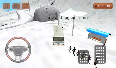 5 berhenti di dekat halte - Bus driver 2015 - game permainan android mengendarai bus