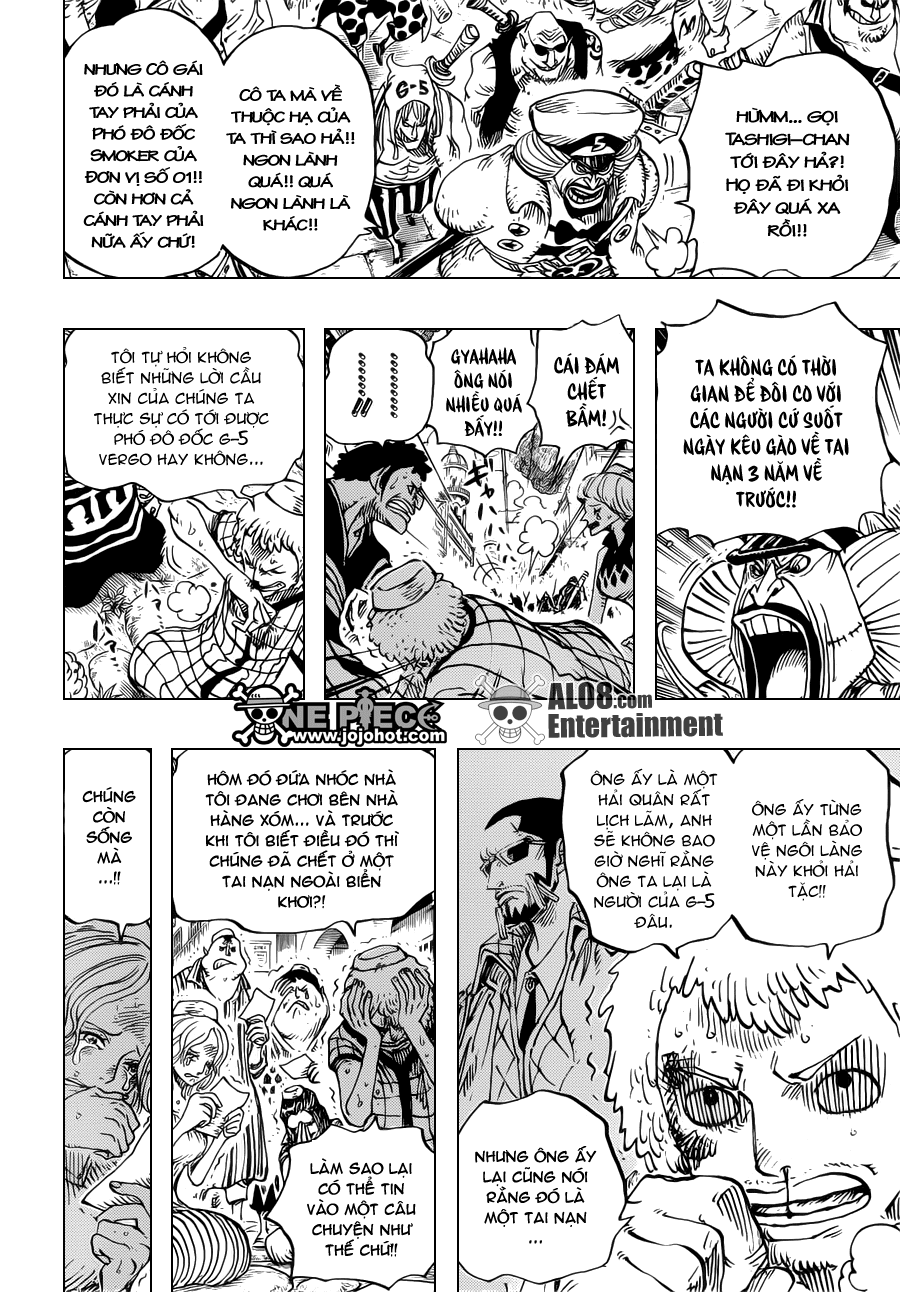 One Piece Chapter 673: Vergo & Joker 004