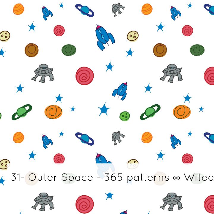 Al m do que se v janeiro 2013 for Outer space pattern