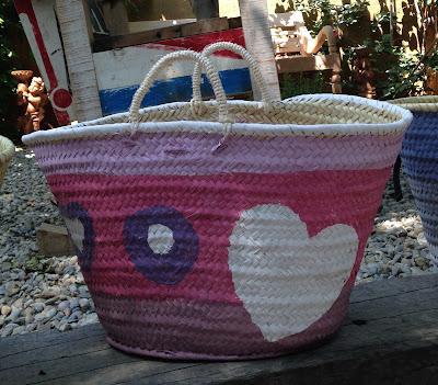 Taller de chalkpaint; diseña y pinta tu propio cesto a todo color