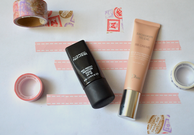 Diorskin Nude BB Creme M.A.C Prep+Prime Face Protect SPF 50 Abu Dhabi/Middle East Makeup