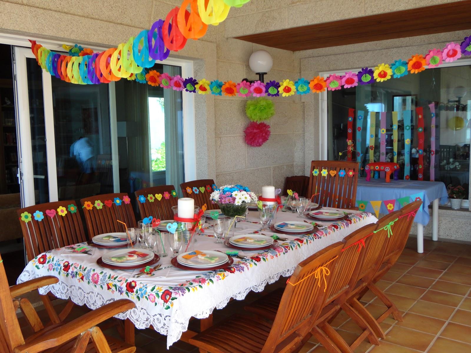 Celebra con ana compartiendo experiencias creativas for Decoracion 70 s
