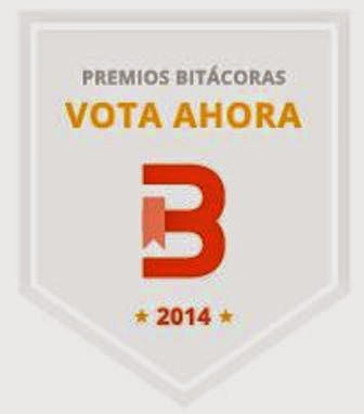 Votarme en los Premios Bitacoras 2014
