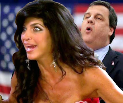 funny Teresa Guidice porn fake nudes Chris Christie screwing the electorate
