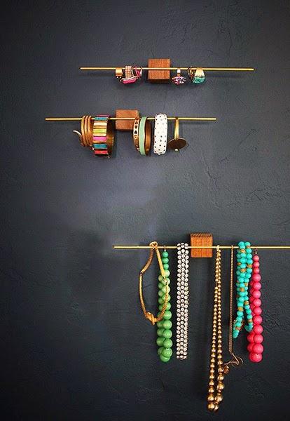 10 id es pour ranger avec style blog d co mydecolab - Rangement bijoux diy ...