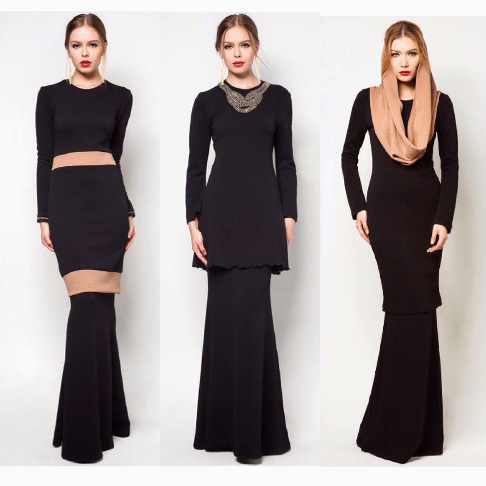 Fashion Baju Kurung Terkini Peplum | HAIRSTYLE GALLERY