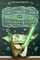 bookcover of STRANGE CASE OF ORIGAMI YODA by Tom Angleberger