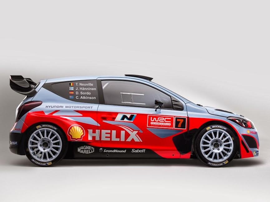 Hyundai i20 WRC side