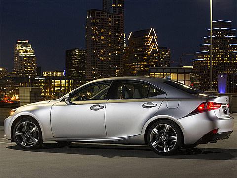 Japanese car photos - 2014 Lexus IS US-Version