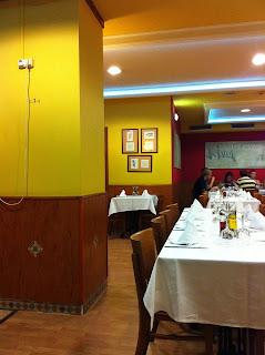 ristorante a menù fisso a saragozza