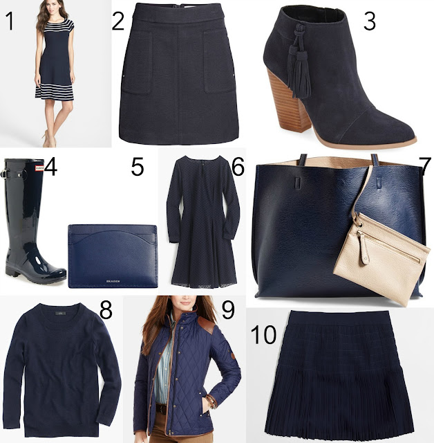 fall fashion, navy, nordstrom, lust list