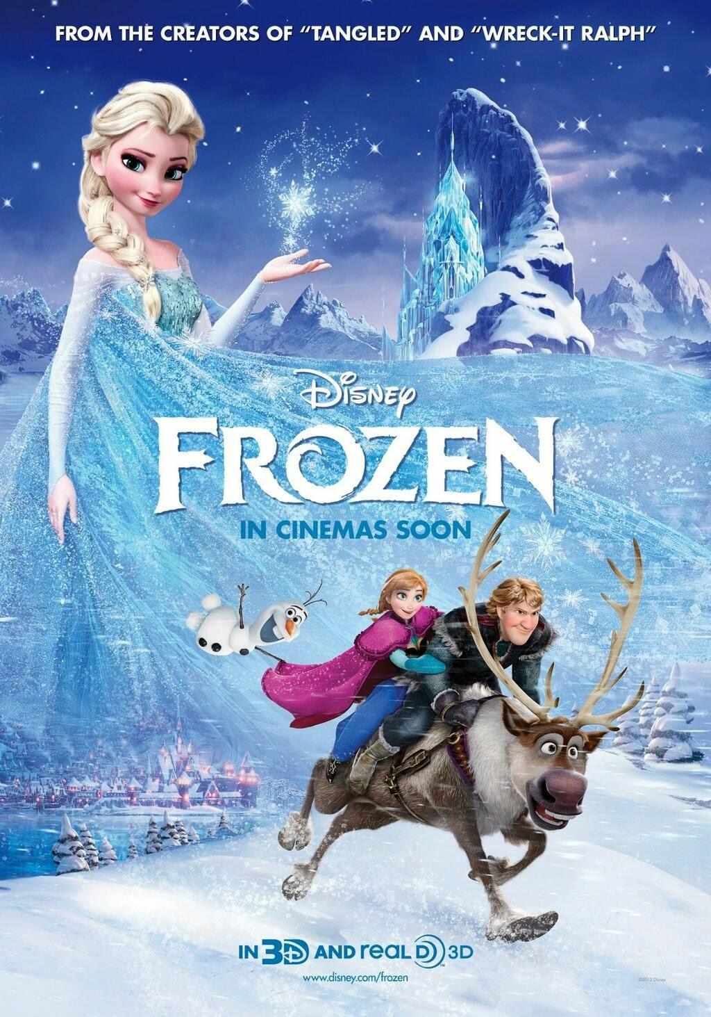 Comentario sobre la película Frozen. El Reino de Hielo
