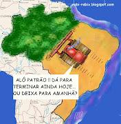 Foi notícia: Desmatamento em Mato Grosso dobra. (Fonte) (mapa brasil)