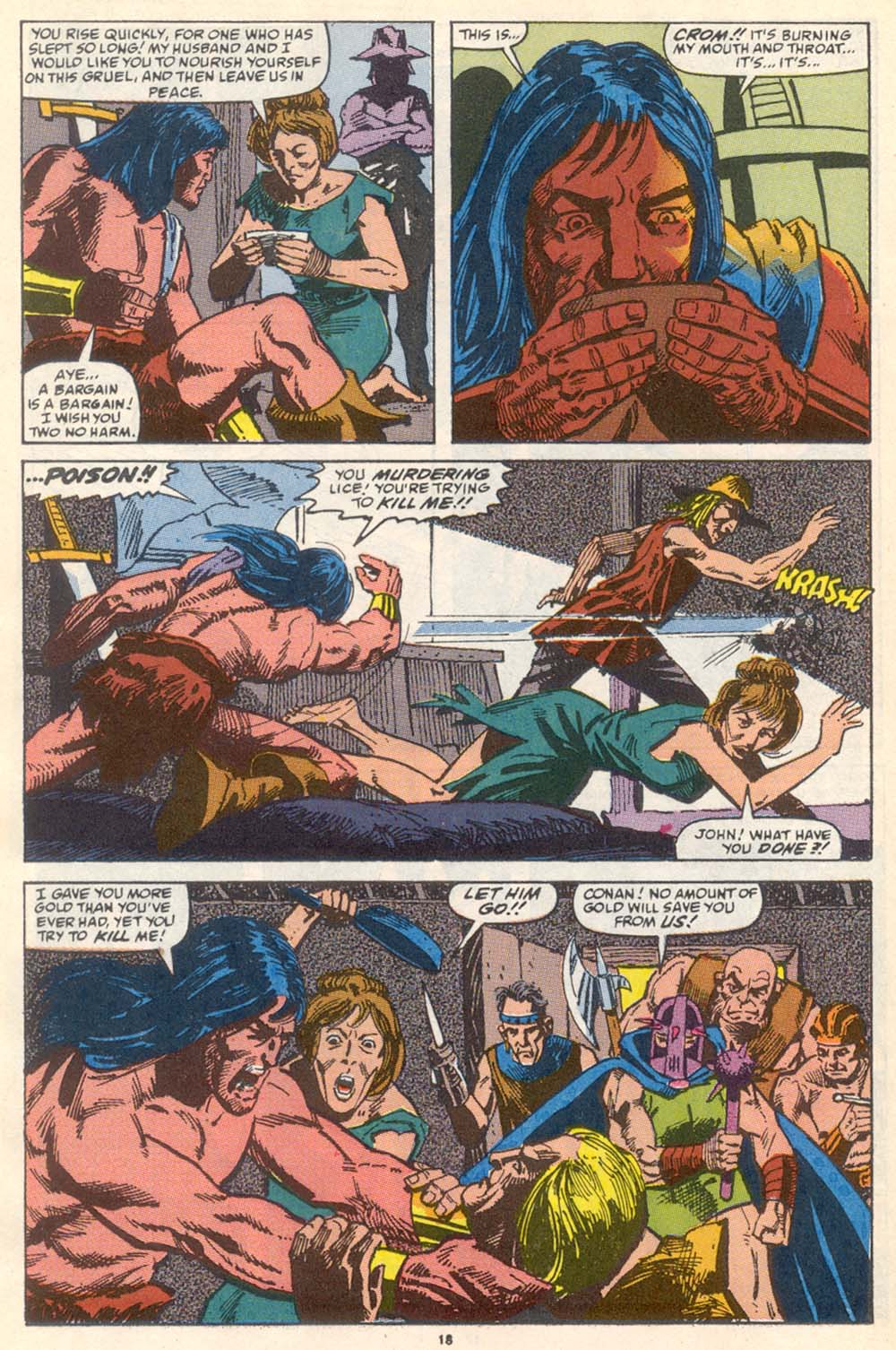 Conan the Barbarian (1970) Issue #222 #234 - English 15