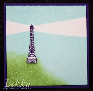 Artistic Etchings from Stampin' Up! -  Card Class