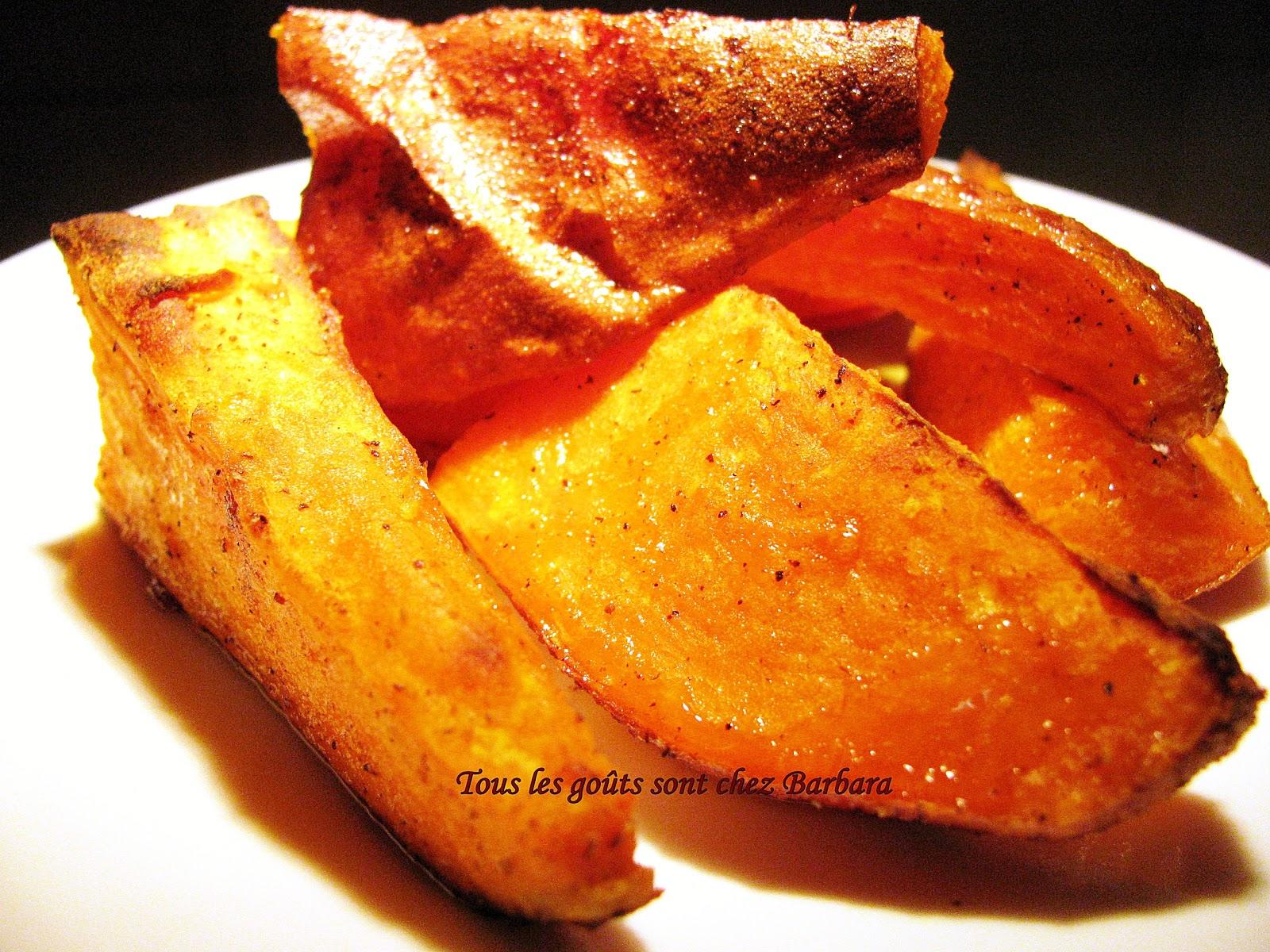 Tous les go ts sont chez barbara patates douces au cari - Quand recolter les patates douces ...