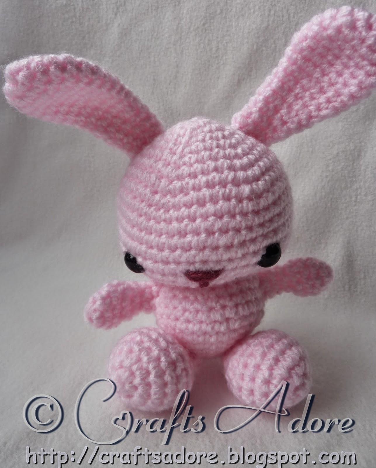 Crochet Spring Bunny Amigurumi Soft Toy