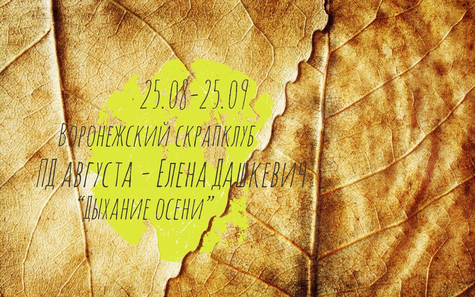 """""""Дыхание осени"""" от ПД Е.Дашкевич"""