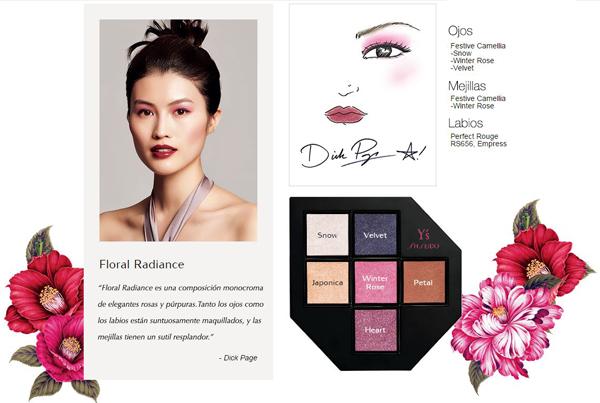 maquillaje romántico paleta sombras de ojos Shiseido Yohji Yamamoto