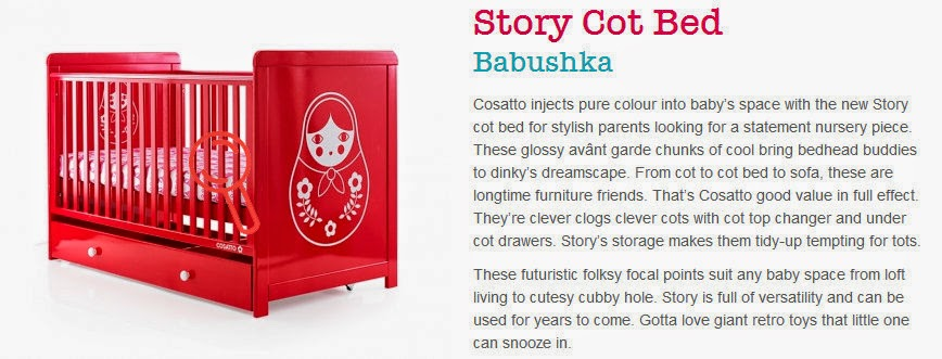 Cosatto Babushka Story Cot Bed