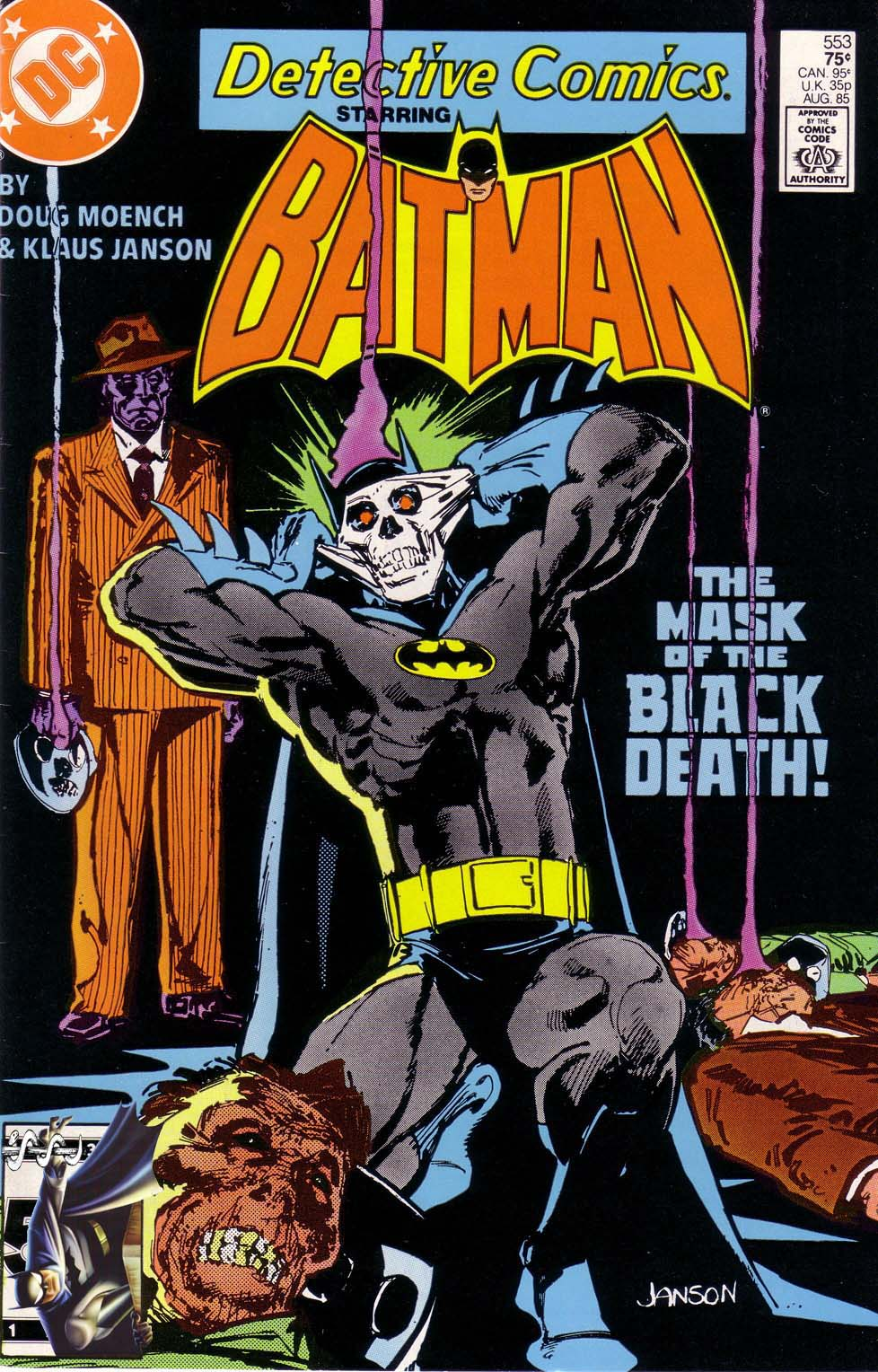 Detective Comics (1937) 553 Page 1